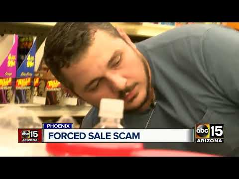 Man uses 'forced sale option' to scam Valley businesses