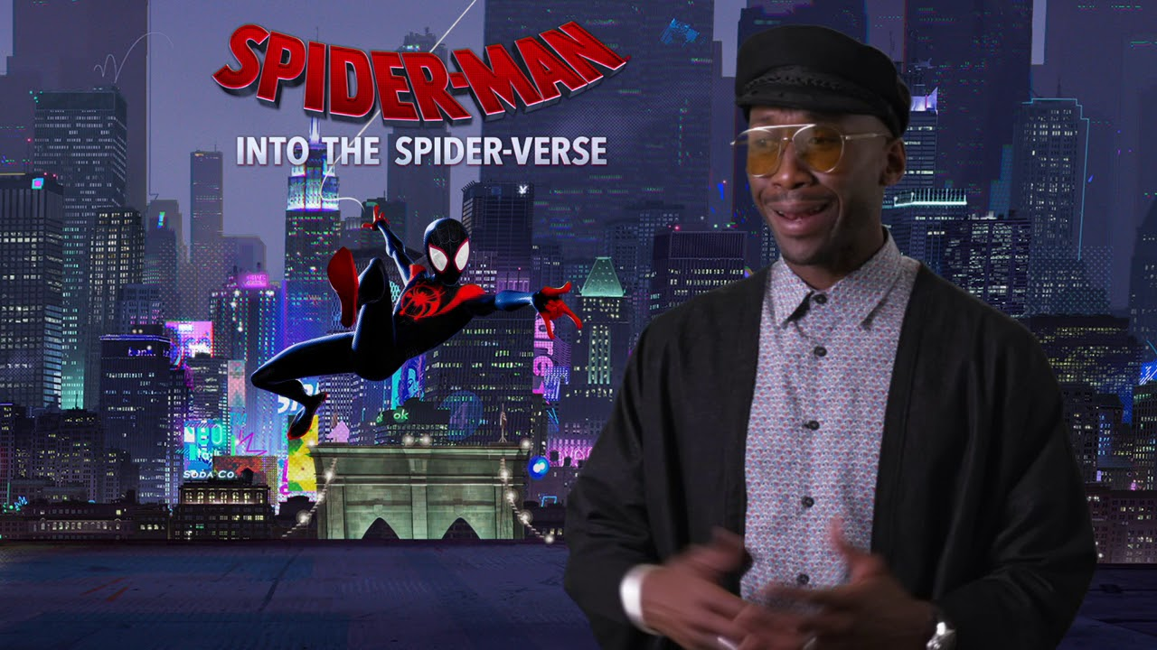 Spider-man Into The Spider Verse - Itw Mahershala Ali (official video)