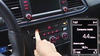 COMO AHORRAR GASOLINA | Conseguir Menos Consumo que el Oficial | Prueba con Seat Leon TSI