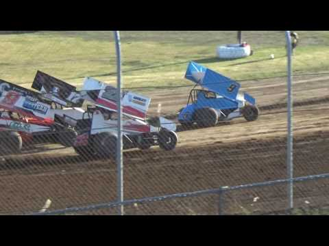 Grays Harbor Raceway, 2017 Fred Brownfield Classic, Night 2, ASCS National Series Heats 1,2,3 and 4