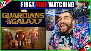 WATCHING GUARDIANS OF THE GALAXY FOR THE FIRST TIME: MCU PHASE TWO