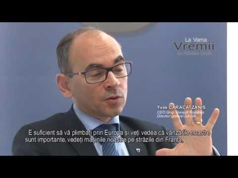 Interviu cu Yves Caracatzanis, CEO Grup Renault Romania, director general DACIA
