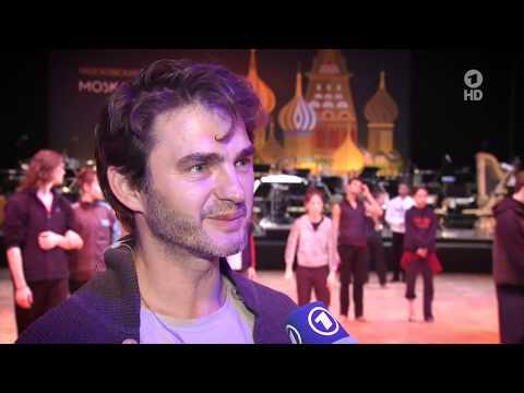 TV BRISANT ::: Lenn Kudrjawizki beim Leipziger Opernball