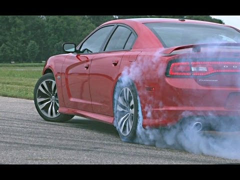 2012 Dodge Charger Srt8 Burnout And Track Video Youtube