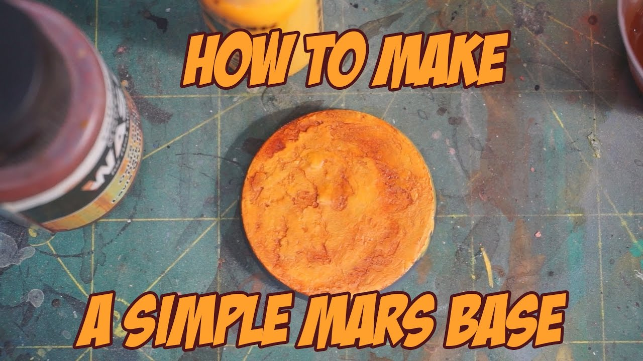 """How to make a simple """"Mars"""" base - YouTube"""