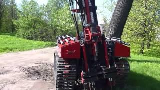 Смотреть видео буровая установка на гусеничном ходу