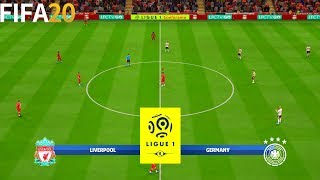 FIFA 20 Liverpool vs Germany Super Ligue 1 Full Match Gameplay
