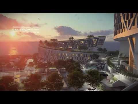 3D визуализация Жилищный комплекс западный