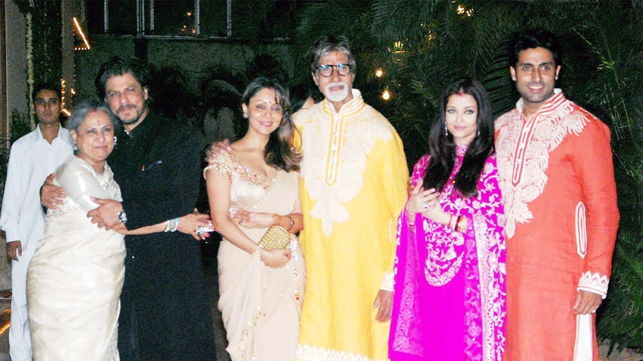 Amitabh Bachchans Diwali Party