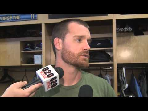 Logan Forsythe -- Tampa Bay Rays vs. Philadelphia Phillies spring training 03/15/2016