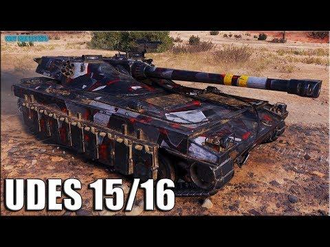 12к урона на шведском СТ UDES 15 /16 ✅ World of Tanks лучший бой