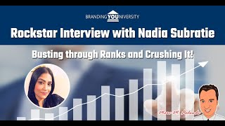 👨‍🏫 Rockstar Interview with Nadia Nisha Subratie 🔥