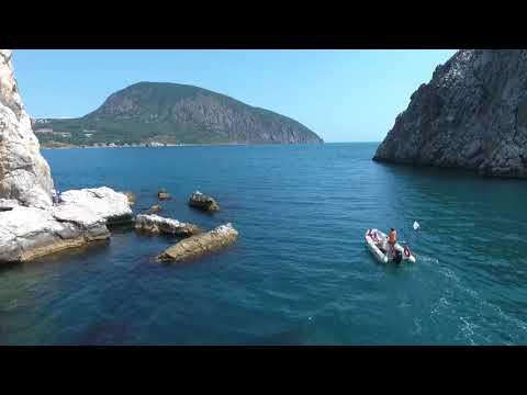 Жемчужина Южного берега Крыма - скалы Адалары