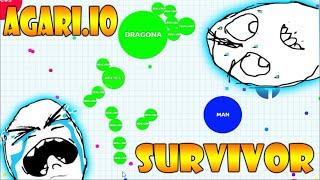 EL ULTIMO SUPERVIVIENTE - DONDE ESTAIS SUORES!!! AGAR.IO - Patty Dragona