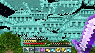 I spawned 1,000,000 Ocean Monuments in Minecraft UHC