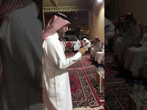 الشاعر الكبير مبروك بن ماضي في صلح بحضور الشيخين العقيلي وبن خرصان في شهر رمضان ١٤٤٠.