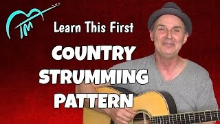 #1 Country Strumming Pattern To Learn