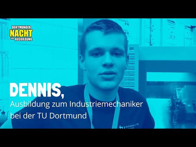 Ausbildung zum Industriemechaniker bei der TU Dortmund