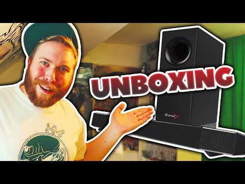 Unboxing: Creative Sound BlasterX Katana