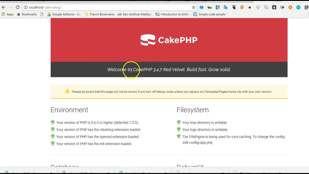 cakephp 3.4