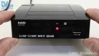 BBK SMP012HDT2 - обзор DVB-T2 ресивера