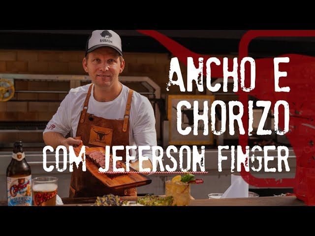 Ancho e Chorizo c/ Tartare Tailandes de Banana por Jeferson Finger na Estação #FazendaChurrascada01