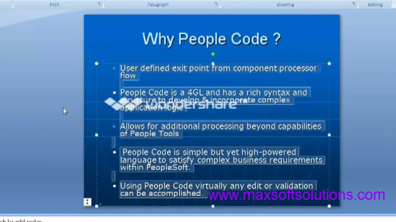 peoplesoft technical online training peoplecode components introduction peoplesoft technical