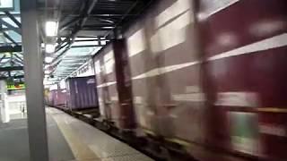 JR貨物 EF510 500番台牽引 貨物列車 動画集