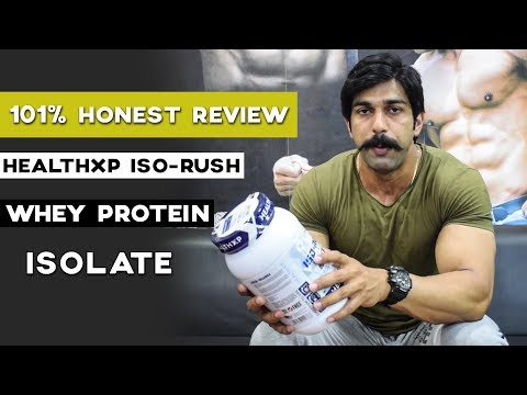 101% Honest Review | HealthXP Iso-Rush Whey Protein Isolate | Rubal Dhankar Fitness