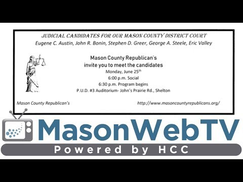 Mason County District Court Judge Candidates Forum