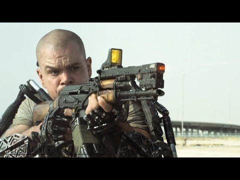 Elysium 2013 All Fight Scenes Edited