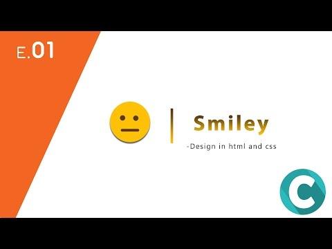 Smiley Emoji Design In Html And Css - (E.01)