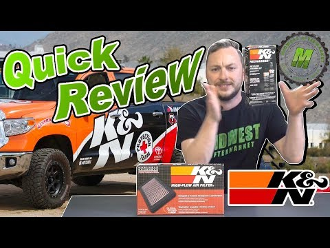 K&N Air Filter & Cleaner Kit Product Review