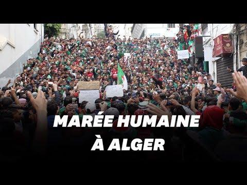 Les Algériens manifestent en masse pour le 9e vendredi consécutif
