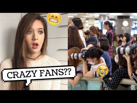 K-POP IDOLS VS CRAZY FANS REACTION // lovedtorch