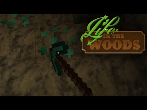 "LIFE IN THE WOODS ⛺️ 110 • ""Stripmining"" mit dem Superhammer!"