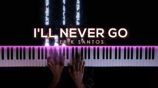 I'll Never Go - Erik Santos | Piano Cover by Gerard Chua видео