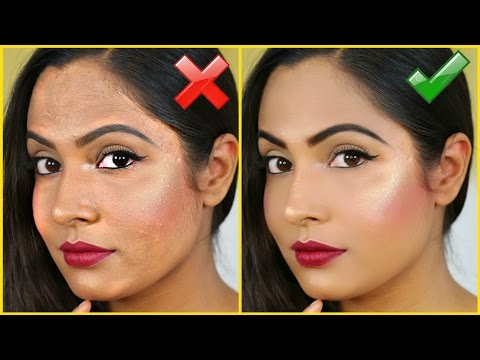 How To Avoid Cakey Foundation - DO'S & DON'T | ShrutiArjunAnand