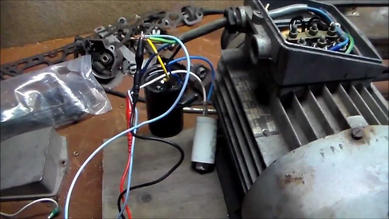 Induction Motor as Generator! 500v @ 90Hz into Universal Motor!!  YouTube