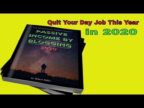 Passive Income Blogging Online 2020 | What you need to hear before this...