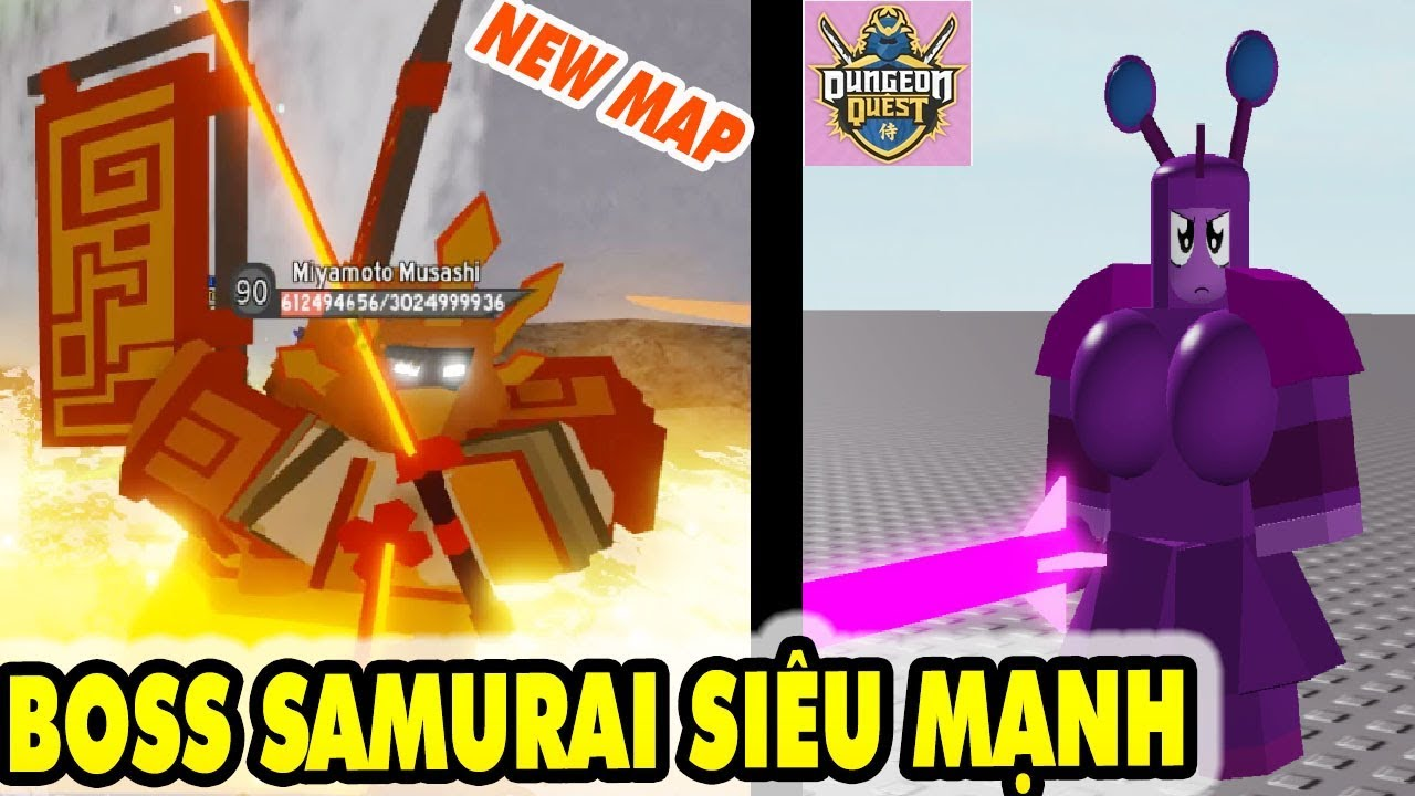 Live Roblox Dungeon Quest Update New Samurai Palace Map