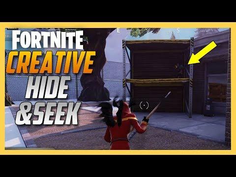 Fortnite Creative Hide and Seek map by JamesTaylor!