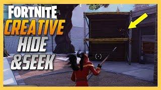 Fortnite Creative Hide and Seek map by JamesTaylor!