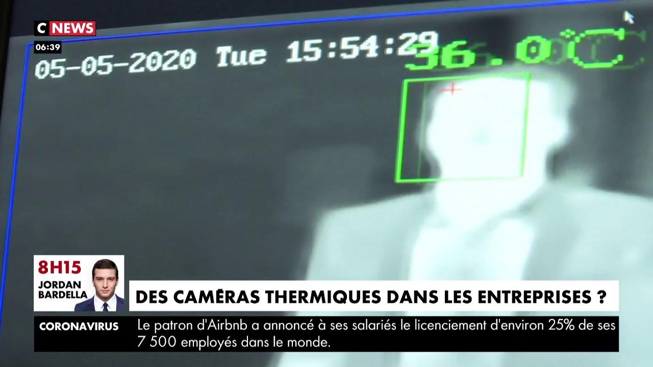Déconfinement : bientôt des caméras thermiques dans les entreprises ?
