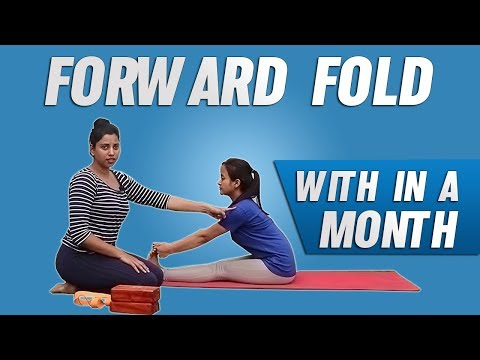 Forward Fold For Beginners With Props |