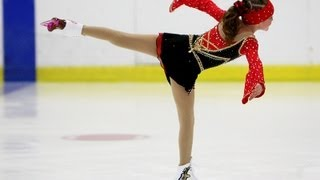 Shayna Chapman figure skating to Pirates of the Caribbean