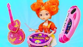 Видео игры для девочек. Сказочный патруль против пиратов! Новые куклы и игрушки Сказочный патруль