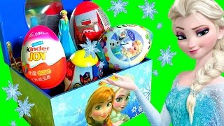 Music Box Surprise Princess Anna & Queen Elsa Disney Frozen Kinder Joy Egg Paw Patrol Cars