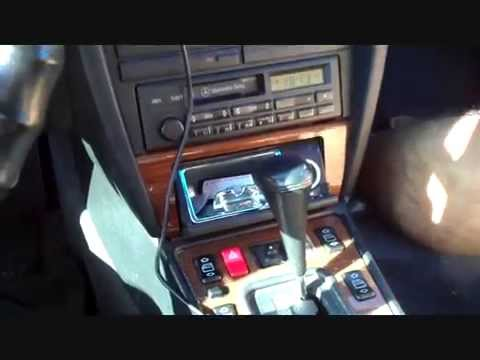Mercedes benz stereo removal 1988 1993 youtube for Mercedes benz stereo