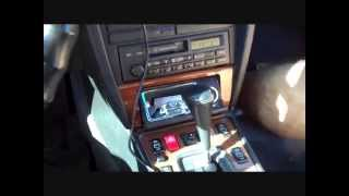 Mercedes Benz Stereo Removal 1988-1993